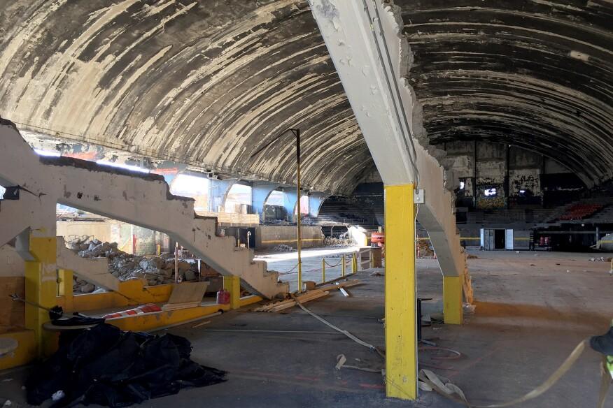 Uline Arena, April 2015