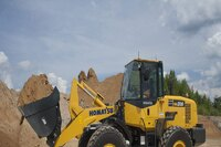Wheel loader with T4i engine