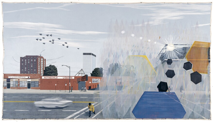 Sunday Morning, 7 am (2003) by Kerry James Marshall