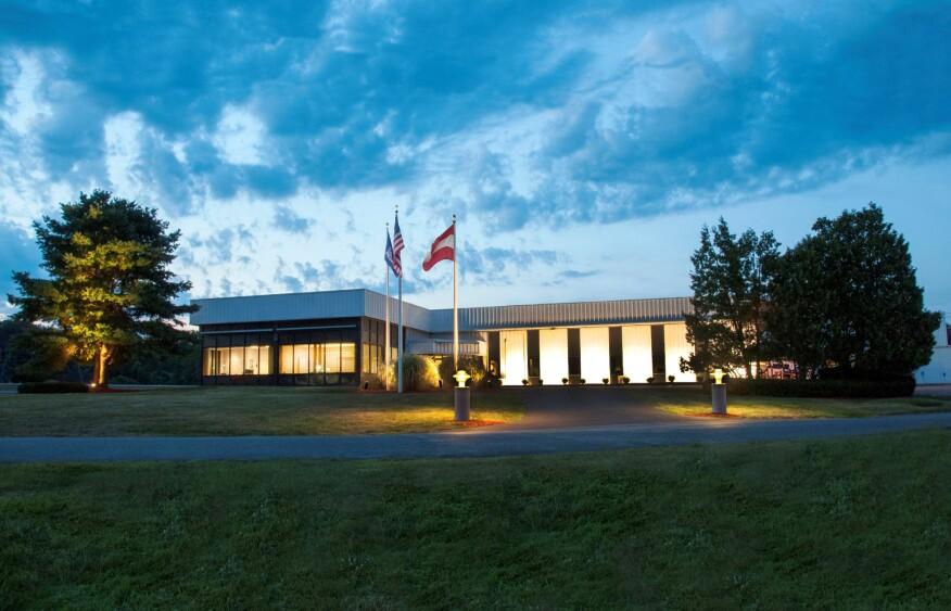 Zumtobel Lighting's North American headquarters in Highland, N.Y.