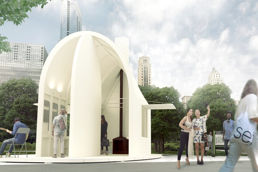 Lakefront Kiosk Proposal