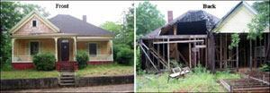 This house was used in a Mortgage Fraud Scheme (photo courtesy of the FBI)