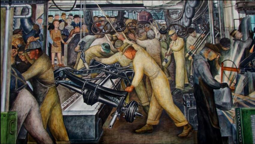 Diego Rivera's mural
