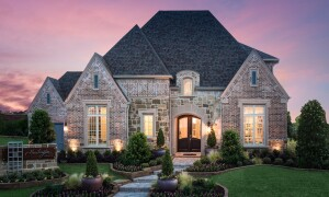 Highland's Huntington model at Windsong Ranch located in Prosper, Texas