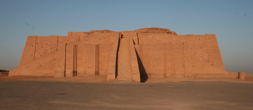 The Ziggurat of Ur as photographed in July 2006.
