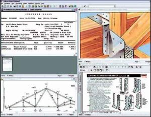 FULL VIEW: OnBase offers the sub a complete view of the job: purchase order, drawing, dimensions, and technical specifications.