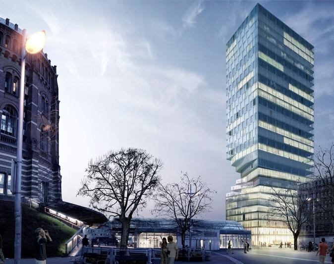 MVRDV Wins Competition to Design Vienna Tower