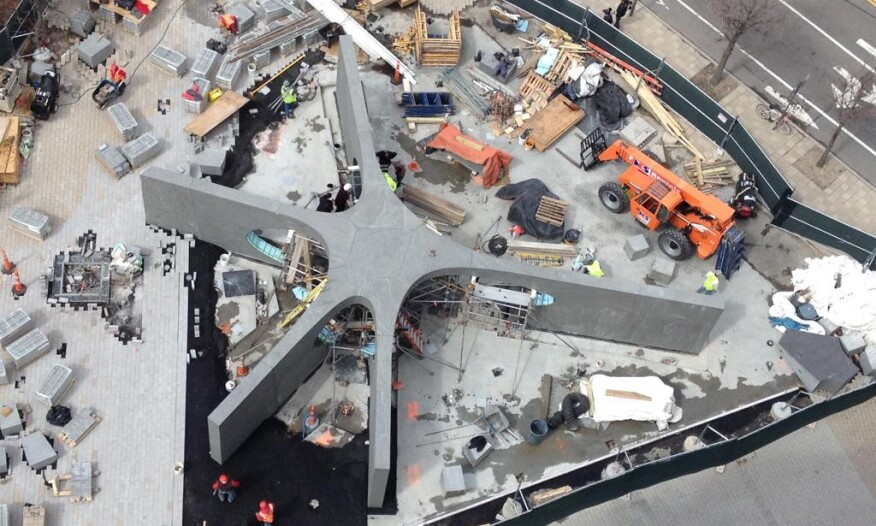 Construction photograph (circa March 2015)