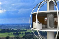A Solar-Powered Man Cave in the Sky
