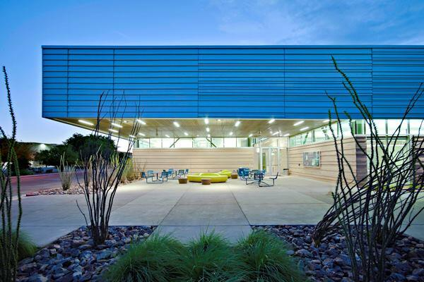 Mesa Community College Health Wellness Building.