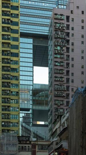 One factor driving multistory retail centers, such as Hysan Place, in Hong Kong is the need for air-conditioned public spaces to escape modern tenement-style dwellings.