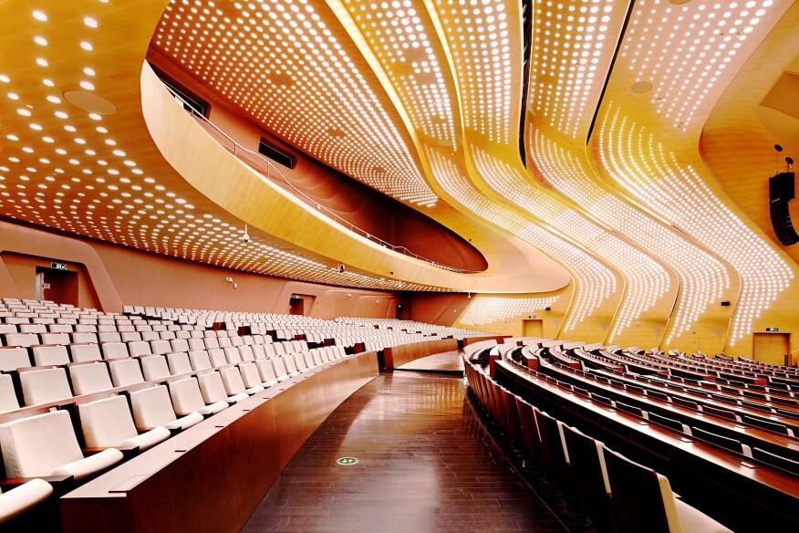 2015 AL Design Awards Nanjing International Youth Cultural Center China