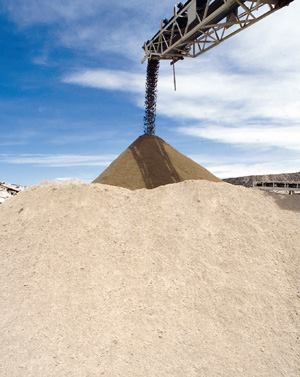 Producers must adjust a mix's water content, depending on the moisture present  in the aggregate.