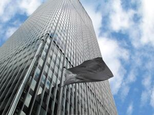 The JPMorgan Chase global headquarters building in New York City is the world's largest LEED Platinum-certified renovation of an existing office building.