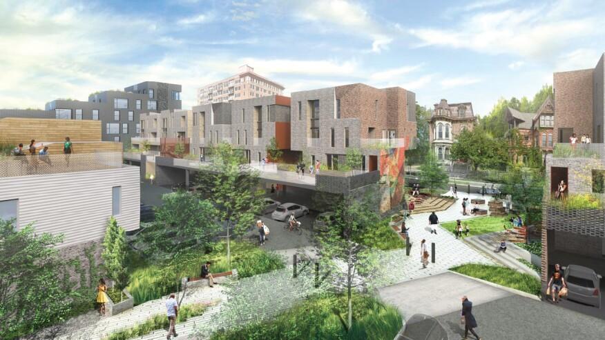 City Modern rendering