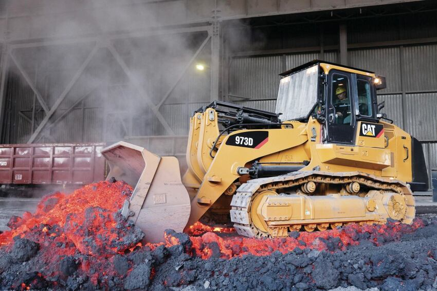 Track Loader Tackles Tough Jobs