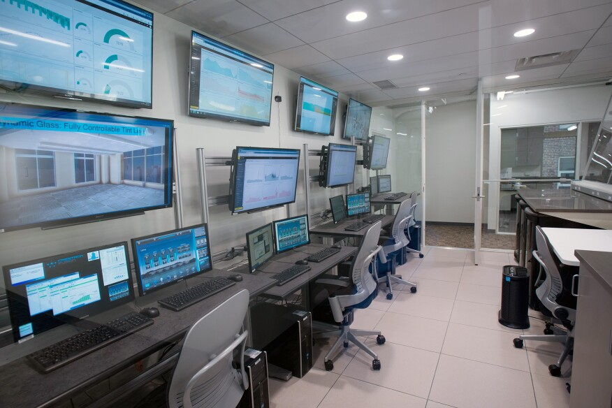 Well Living Lab's control center