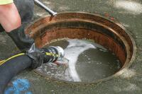 Flood grouting reduces private side sewer lateral infiltration