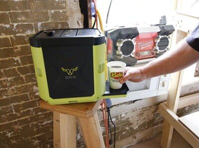 Hot coffee on the Job Site! Our Oxx CoffeeBoxx has been a huge hit! Use discount code RISINGER15 between now and Father's Day for 15% off your purchase!