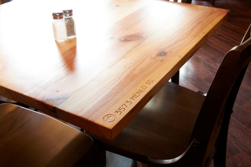 Great Lakes Brewing Co. furniture by Reclaimed Cleveland