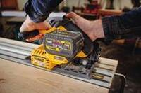 New FlexVolt Track Saw