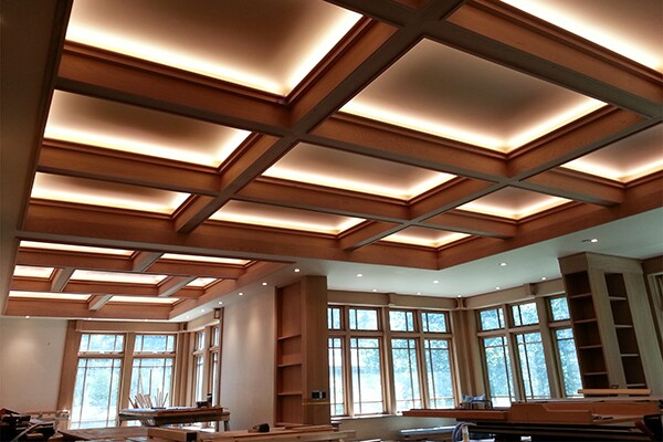 A Craftsman Style Coffered Ceiling Jlc Online
