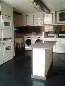 Renovating a common-area laundry room (above and below) is one example of an upgrade to consider as part of an overall plan to maintain and enhance a community to increase its long-term value.