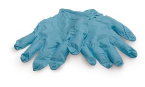 Gloves: Because of latex allergies, many people choose nitrile gloves, which are latex-free and just as sturdy.