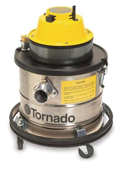 Tornado Industries CVF 125 HEPA-Filtered Vacuum