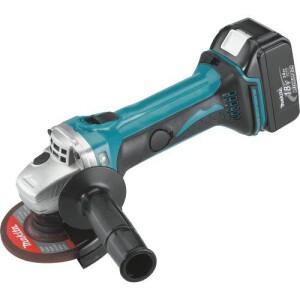Makita XAG01 18-volt cordless grinder