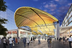 HS2 Euston Station
