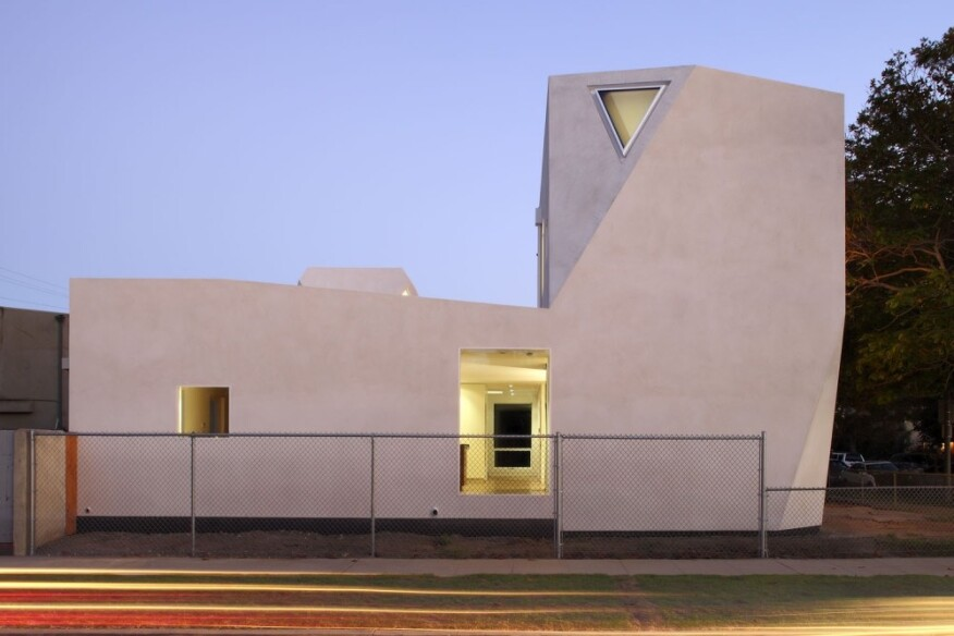 """The House That Consumed Geometry"" in Venice Beach, Calif."