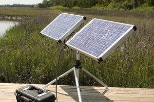 Solar-powered Portable Generator From Solar Stik