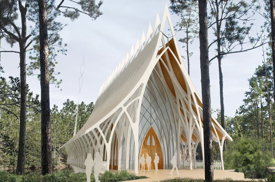Unf Interfaith Chapel Competition Entry Architect