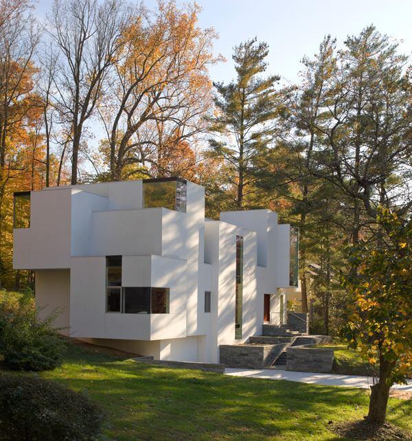 NaCl House, designed by David Jameson Architect.