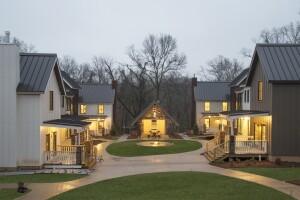 Sam Walton's daughter-in-law Christy Walton conceived of this Black Apple pocket neighborhood, in Bentonville, Ark.