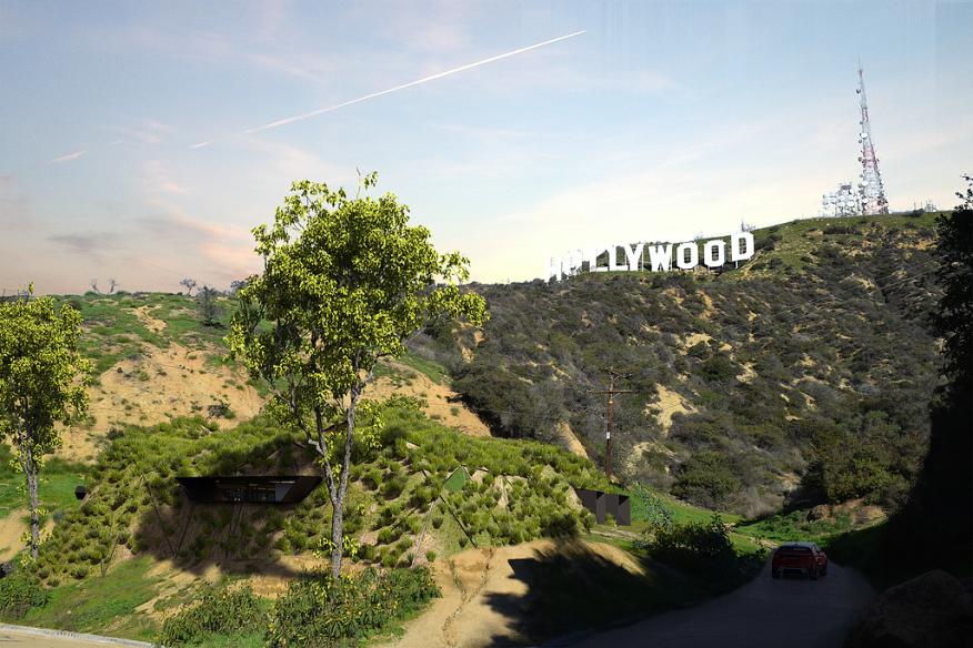 Hollywood Hill House