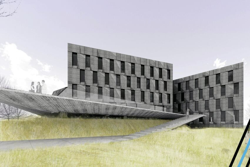 Ordos 20+10 Office Complex, Designed by NADAAA in Association with Himma Studio