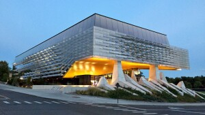 Bill and Melinda Gates Hall, in Ithaca, N.Y., by Morphosis Architects