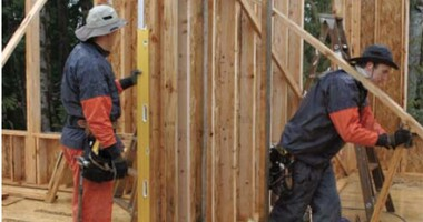 Plumbing and Straightening Walls