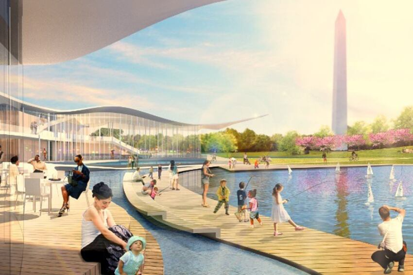 Finalist Design Schemes Revealed for National Mall Design Competition