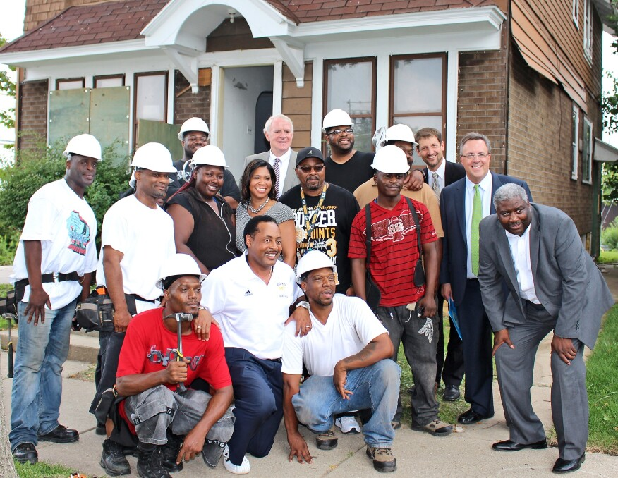 Gorman & Co.'s Northside Housing Initiative in Milwaukee features an extensive job training program to teach local residents in construction and demolition work.