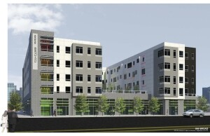 999 Broad will include 47 units of affordable housing, 40 market-rate units, and ground floor retail space. It is expected to be completed by early summer 2016.