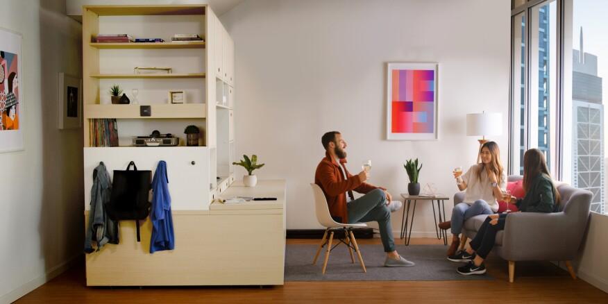 Ori\'s Robotic Furniture Transforms Studio Apartments | Multifamily ...