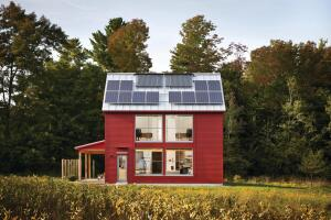 Rustic Radical The G•O Home in Belfast, Maine, has traditional good looks and an eco-forward mindset.