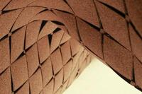 Cork Architecture: Laser-Cut Cork Surfaces