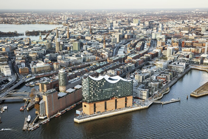 Elbphilharmonie, Hamburg, Germany, by Herzog & de Meuron - April 2016