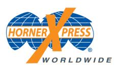 HornerXpress Worldwide Logo