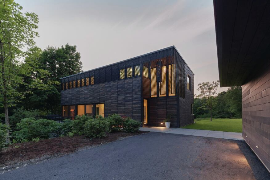 Guest house exterior.