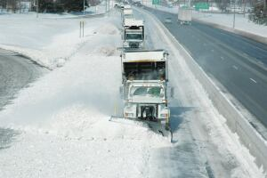 The Ohio DOT's three-tiered snow and ice performance evaluator combines National Weather Service, pavement condition, and traffic data.